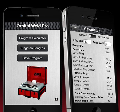 Orbital Weld Pro for iPhone