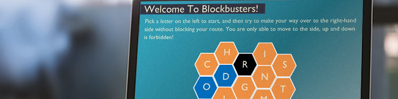 Articulate Storyline Blockbusters Quiz Template