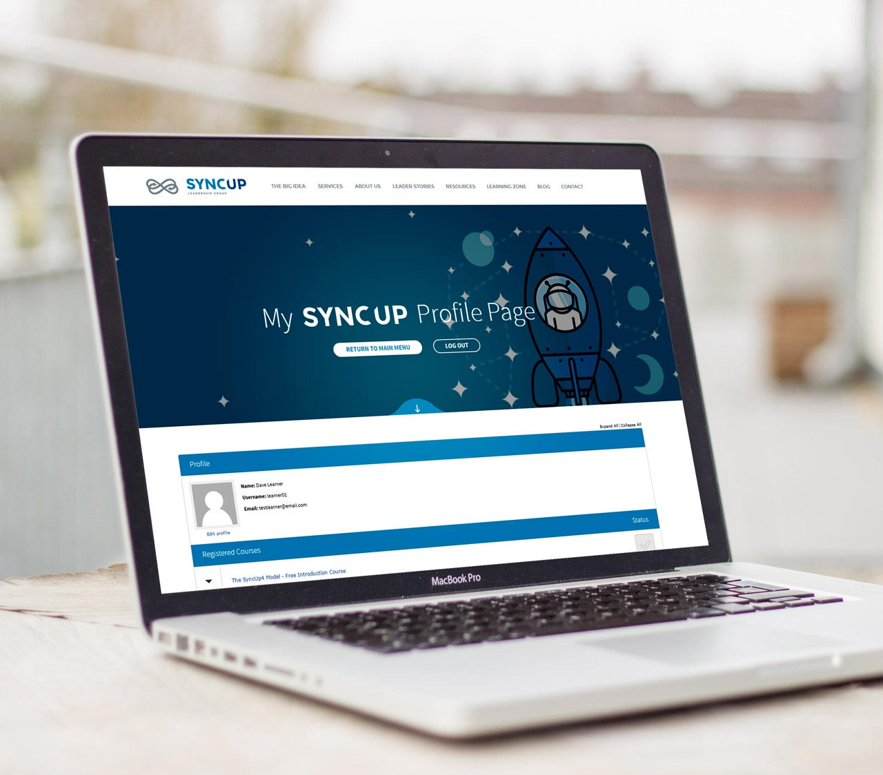 SyncUp Learning Platform