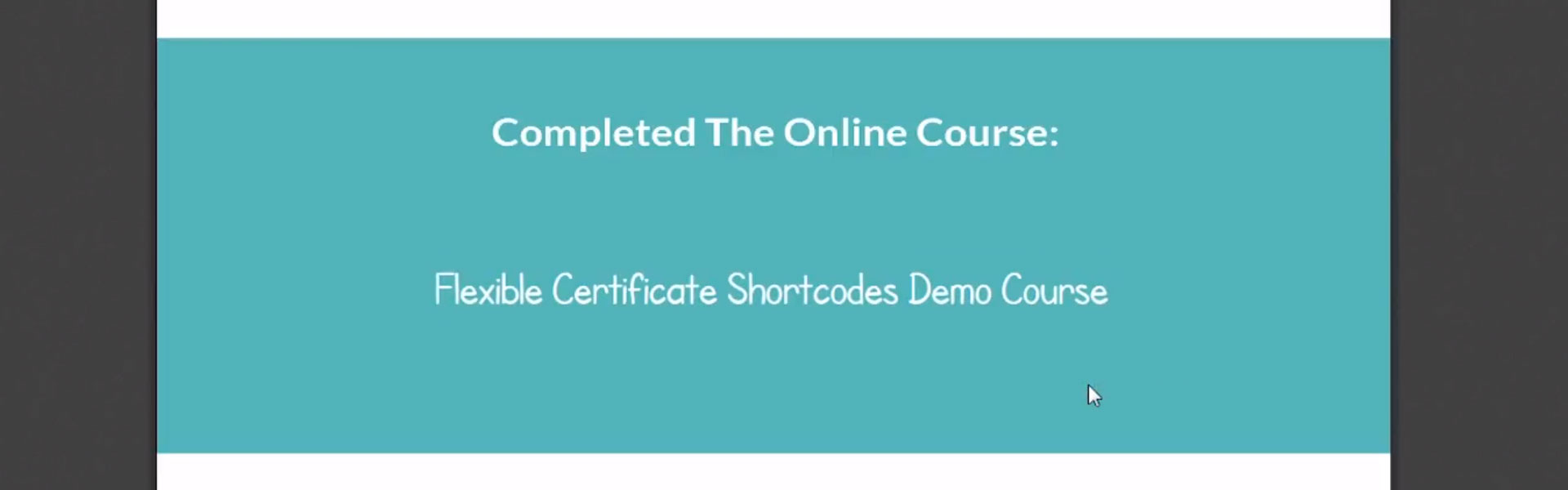 Certificate Fonts in LearnDash