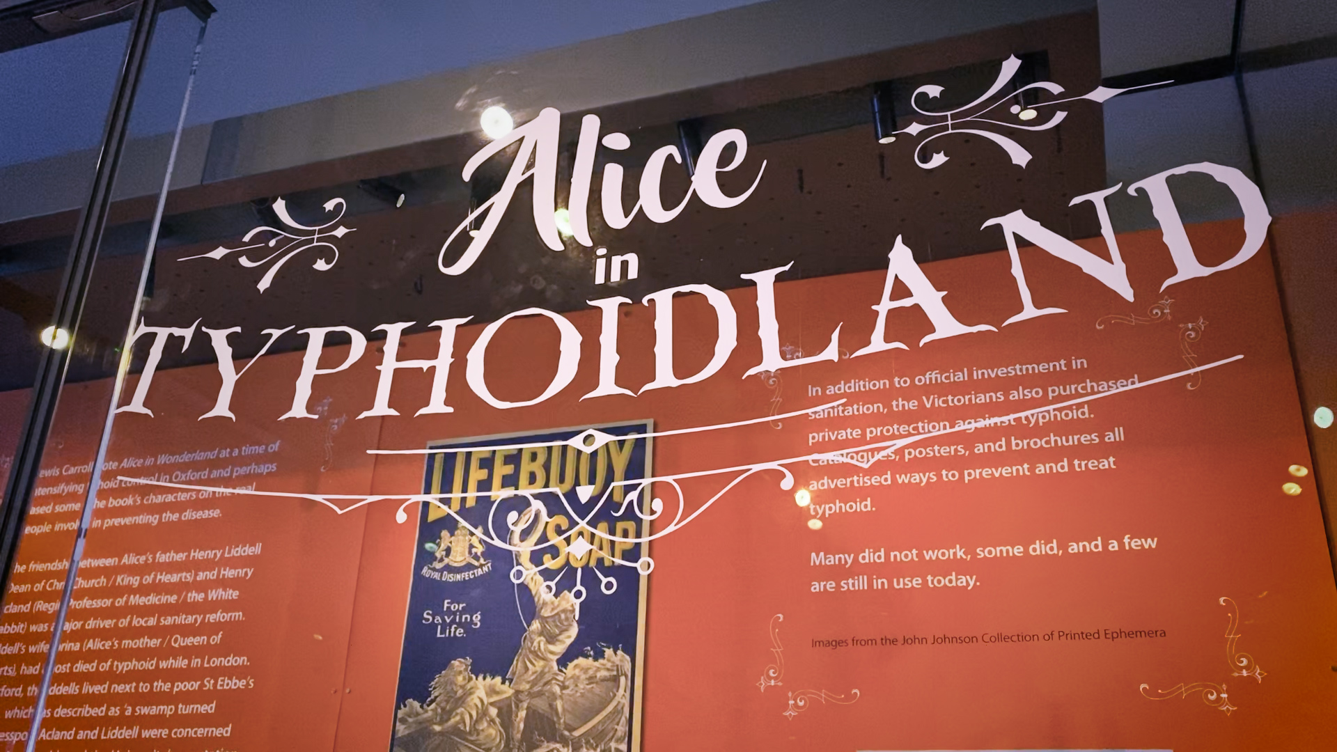 Alice in Typhoidland – Discover eLearning Produces Digital Learning Games For A New University of Oxford Exhibition