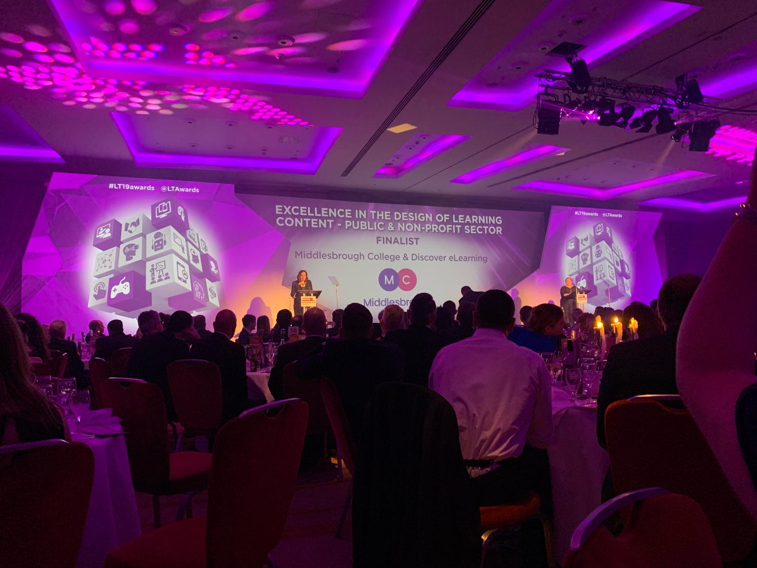 Discover eLearning named runners-up at Learning Technologies Awards
